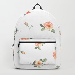 Easy, Breezy Floral Backpack
