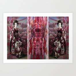 Once Upon A Time in Tokyo XVIII Art Print