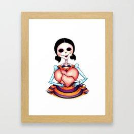 Dia de los Muertos: Stitch by Stitch Framed Art Print
