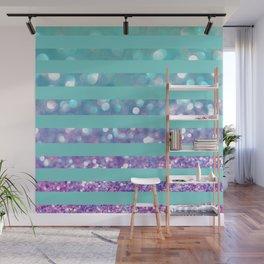 Tango Frost Stripes Wall Mural
