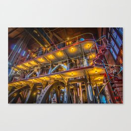 Allis Triple Expansion Engine Canvas Print