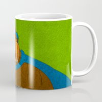 walrus Mugs featuring Walrus by subpatch