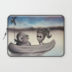 I Wanted to Take You On A Boat Ride But My Arms Are Too Nubbly to Row So I Invented This Laptop Sleeve