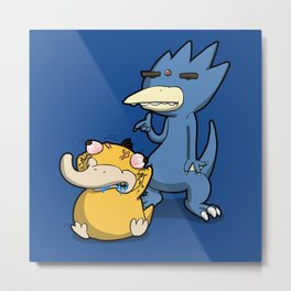 Pokémon - Number 54 & 55 Metal Print
