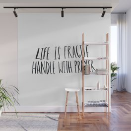 Handle with Prayer Wall Mural