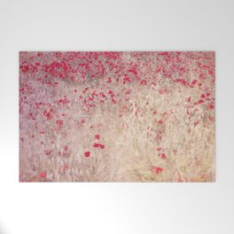 Fields of poppies Welcome Mat