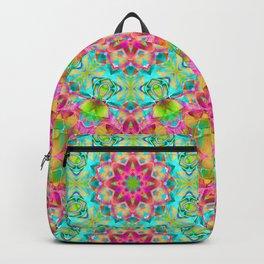 kaleidoscope Flower Abstract G119 Backpack
