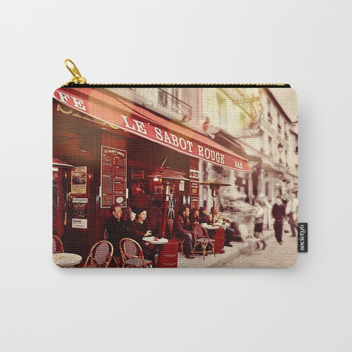 Coffehouse, Sidewalk Cafe Carry-All Pouch
