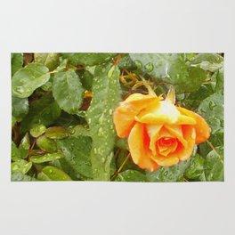 Floral Print 043 Rug