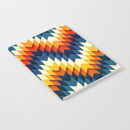 Wanderlust pattern Notebook