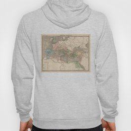 Vintage Map of The Roman Empire (1838) Hoody