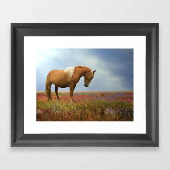 Painted Pastures Framed Art Print