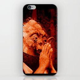 DalaiYOda - RED iPhone Skin