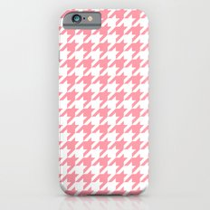 Pink Houndstooth Pattern Slim Case iPhone 6s