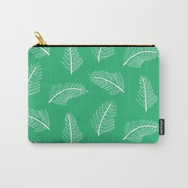 Friendly Ferns Green Carry-All Pouch