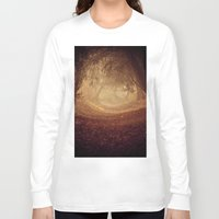narnia Long Sleeve T-shirts featuring Where's the white rabbit?  by Sparks of Fire