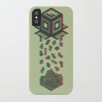 tetris iPhone & iPod Cases featuring Tetris by Delaney Digital
