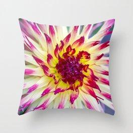 Dahlia / In The Garden / 10 Throw Pillow