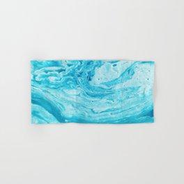 BLUE SWIRL Hand & Bath Towel