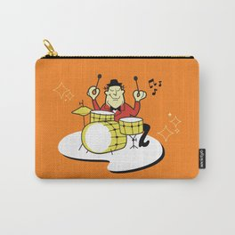Vintage Drummer Carry-All Pouch