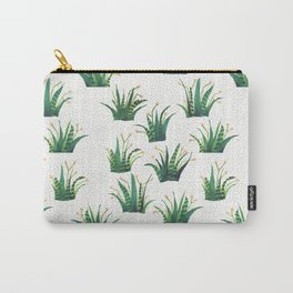 Field of Aloe Carry-All Pouch