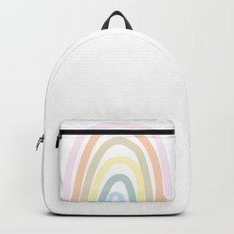 my own pastel rainbow Backpack