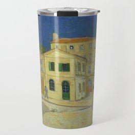 The Yellow House by Vincent van Gogh Travel Mug