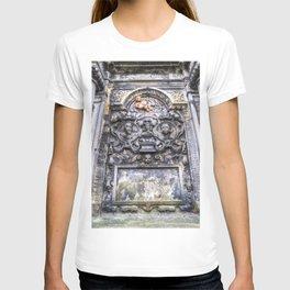 Ancient Grave Stone Greyfriars Kirk Graveyard T-shirt