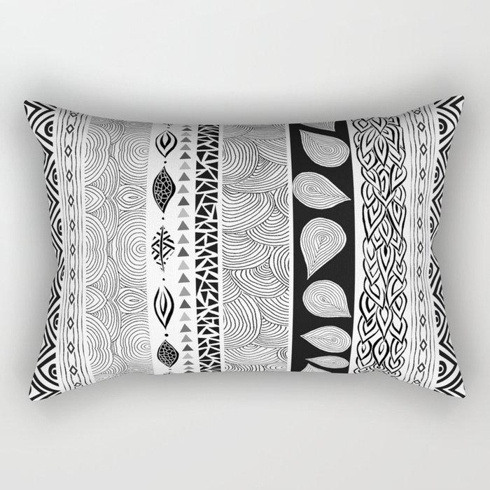 Tribal & Nature Play Rectangular Pillow