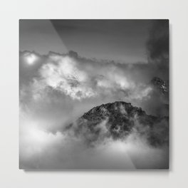 """Into the clouds at 3300 meters high"" Metal Print"