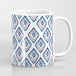 Rugged Royal - aztec watercolour pattern Coffee Mug