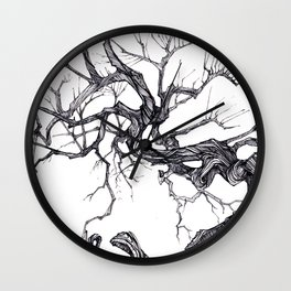 Gnarled Tree Wall Clock