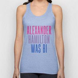 Alexander Hamilton Was Bi #2 Unisex Tank Top