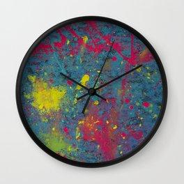 Fluorescent Dream Wall Clock