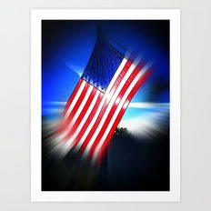 American Diamond Art Print