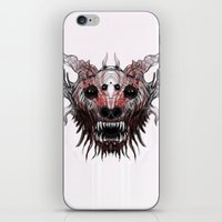 beast iPhone & iPod Skins featuring Beast by WES EXOTIC IMAGERY