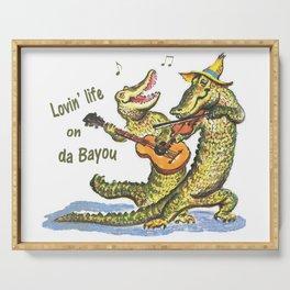 On da Bayou Serving Tray