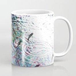 Fish in Electron Rain - Dream Series 006 Coffee Mug