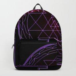 Ultraviolet Sri Yantra Backpack