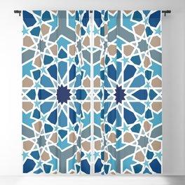 Arabic Geometric Design Pattern Blackout Curtain