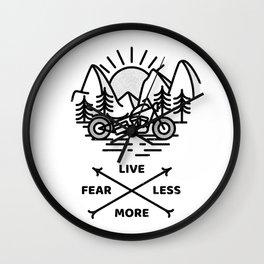 Live More Wall Clock