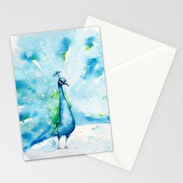 Peacocking Around Stationery Cards