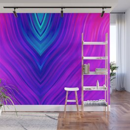 stripes wave pattern 3 s60 Wall Mural