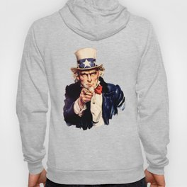 Uncle Sam Pointing Finger Hoody