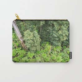 Ferns From Above Carry-All Pouch