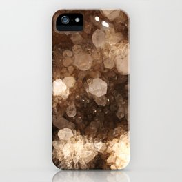 Quartz Crystal Energy Stone Magic Healing Witchy Gems Druzy Photography iPhone Case