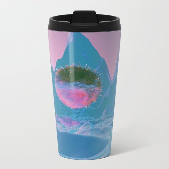 SOMEWHERE ELSE Metal Travel Mug