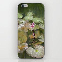 Lotus Pond 1 iPhone Skin