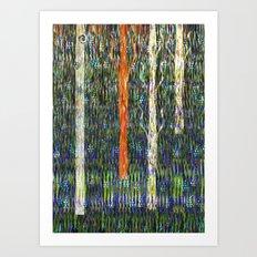 Field of grass Art Print