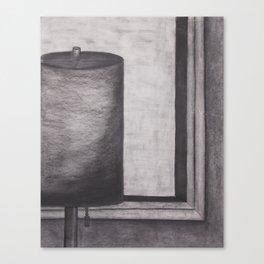 Lamp Still Life Canvas Print